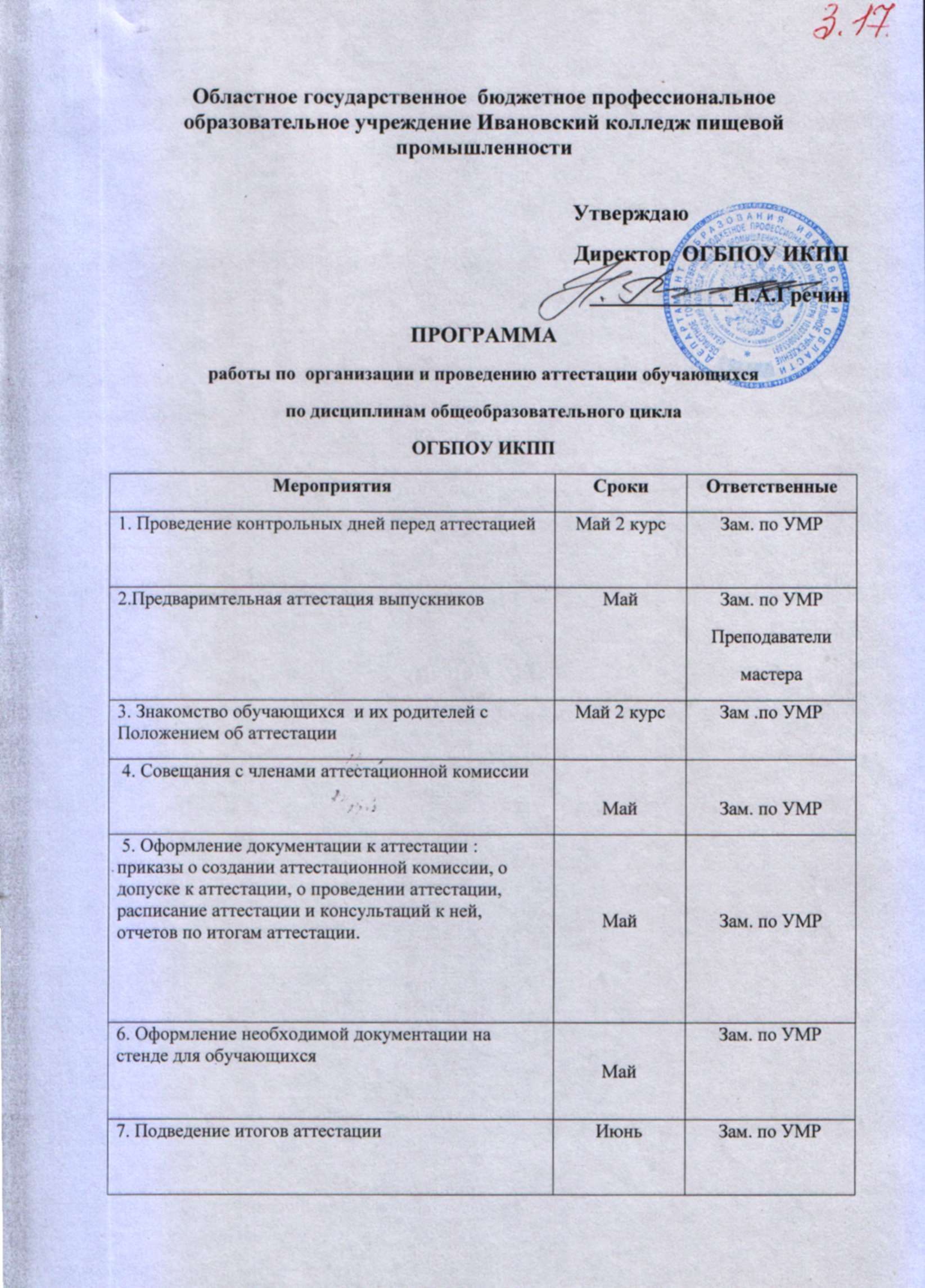 Ивановский колледж пищевой промышленности ПОЛОЖЕНИЕ о методической службе